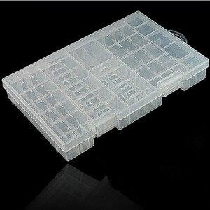Image 3 - HFES flambant neuf multi fonction AAA AA C D 9V support de batterie en plastique dur boîte de rangement supports