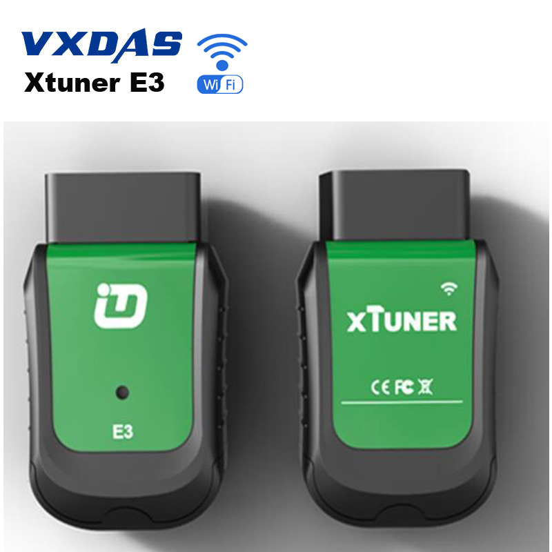 Xtuner E3 OBDll Diagnostic Tool Function As Vpecker Easydiag 8.5 OBD2 Wifi Code Scanner work on Windows Automotriz Online Update