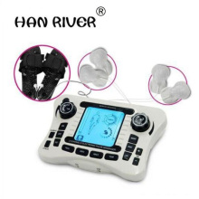 Dual channel pain relief nerve muscle tens electro stimulator body therapy massager physiotherapy apparatus foot massage slipper