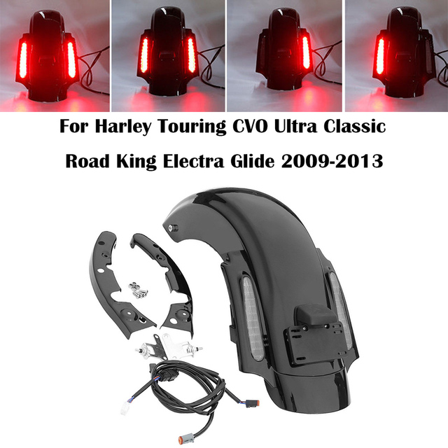 Cheapest For Touring CVO Style Rear Fender LED System Street
