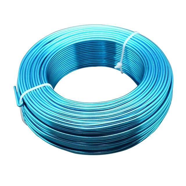 Online Shop Pandahall 50m/roll 2mm in Diameter Aluminum Wire Multi ...
