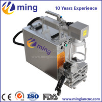 Good price fiber laser marking system/fiber marking machine for metal and non metal with high accurancy