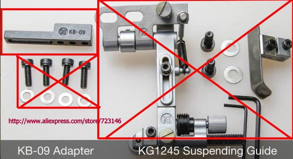 14pcs Set KB-09 Adapter & KG1245 Suspending Guide Guides On For Pfaff 335, 1245, Vintage Machines KG1245 Suspending Guide