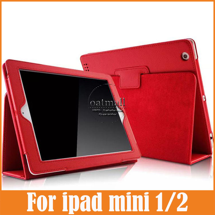 New Folding filio magnetic pu leather stand smart Case For mini ipad 2 Cover Coque Fundas for apple ipad mini 3 2 1 retina cases new for apple ipad 2 3 4 ipad2 ipad3 case table smart cover slim magnetic pu leather stand cases