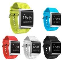 Bracelet à puce Bluetooth 4.0X9 Plus BLE Étanche de Remise En Forme Bracelets Santé Moniteur de Fréquence Cardiaque Smart Bracelet pour iOS Android