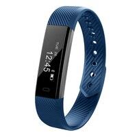 ID115 Smart Bracelet Hommes Femmes IP67 Étanche OLED Écran De Mode Alarme alerte D'appel À Distance Caméra De Sport De la Montre Braclet