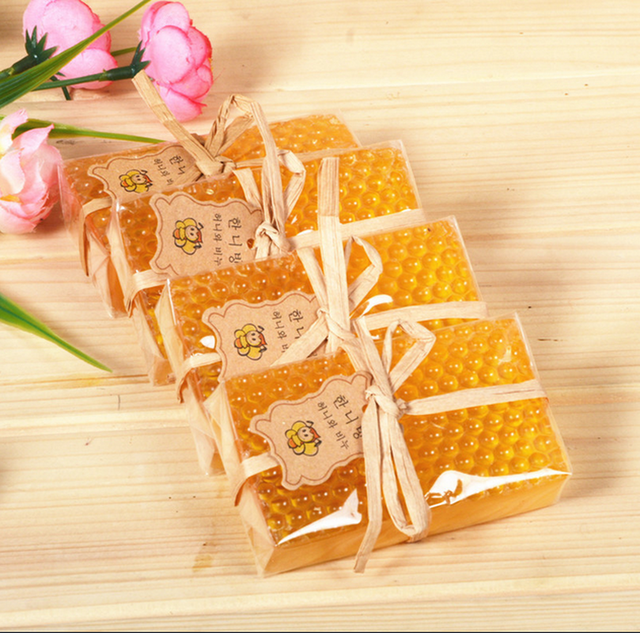 100g Honey Kojic Acid Soap Handmade Whitening Soap Peeling Glutathione Arbutin Bath Body Deep Cleaning Soap Skin Care Bath Tool 5