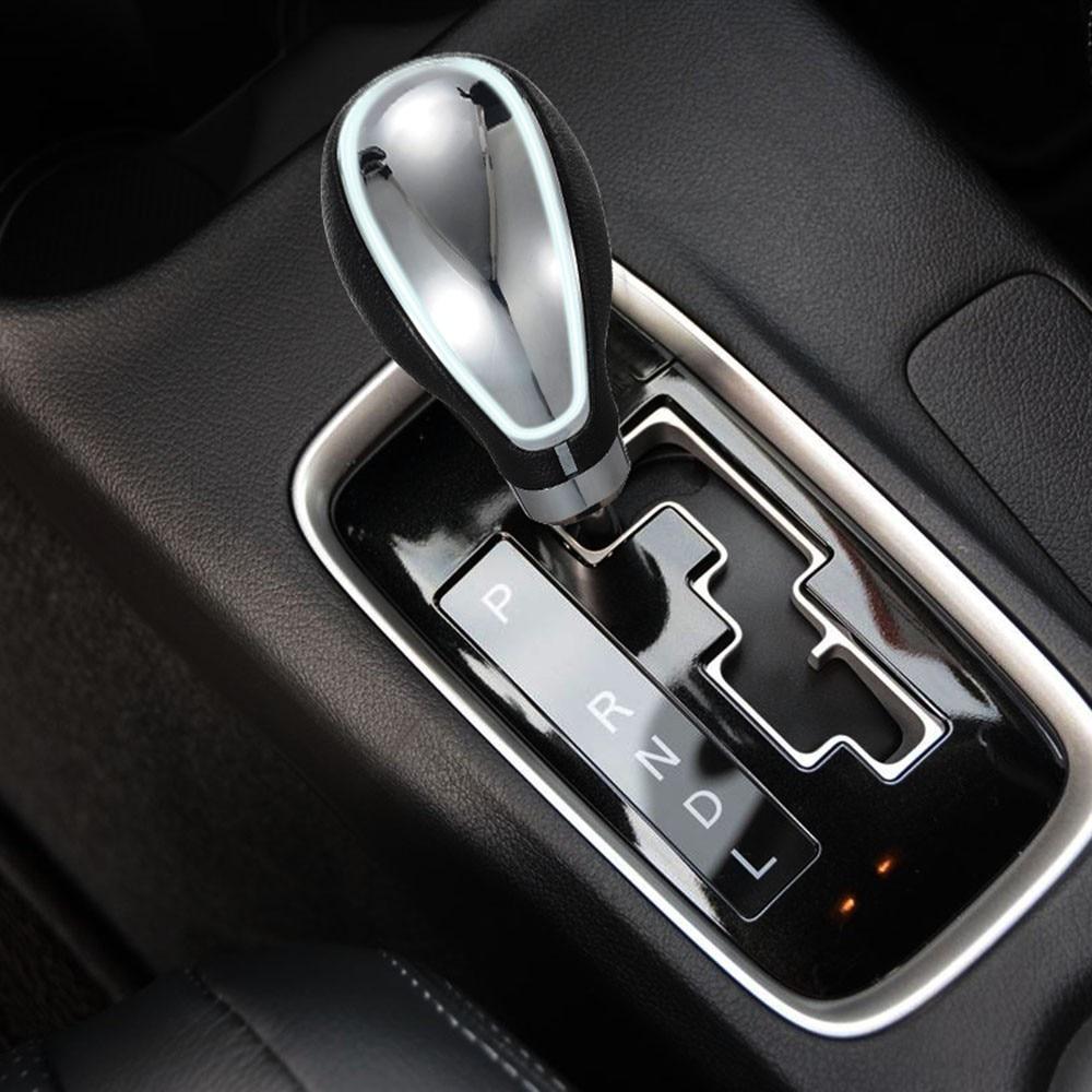 Gray Abfer Shift Knob Resin Handle Manual Automatic Car Gear Shift ...
