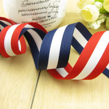 20 Meters 25mm Color Striped Ribbon DIY Handmade Hair Bow Material Apparel Sewing Clothing Accessories