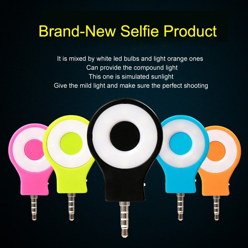 Hot RK07 Selfie Flash Light Retina Night Using Selfie Enhancing Flash Light  Portable For I6 6S Plus IOS Android 3.5mm Jack Plug In Flashes From  Consumer ...