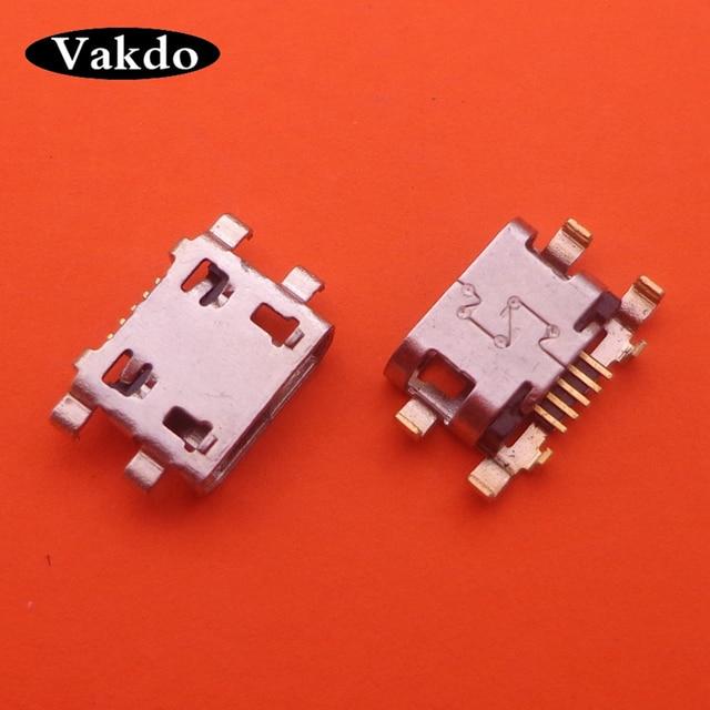 100 ピース/ロットモトローラモト G6 再生 XT1922/G6 プラス micro usb charging ジャックコネ
