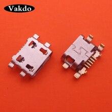 100 шт./лот для Motorola Moto G6 Play xt006/G6 plus micro usb разъем для подключения док станции