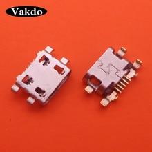 100 pcs/lot Für Motorola Moto G6 Spielen XT1922/G6 plus micro usb charging jack stecker dock buchse anschluss