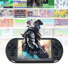 """Incorporado 3000 Clásicos de Consolas de Juegos portátil Para Juegos de GBA NES Juegos MP5 Juego de Consola Con 5.0 """"pantalla 8 GB Portátil"""