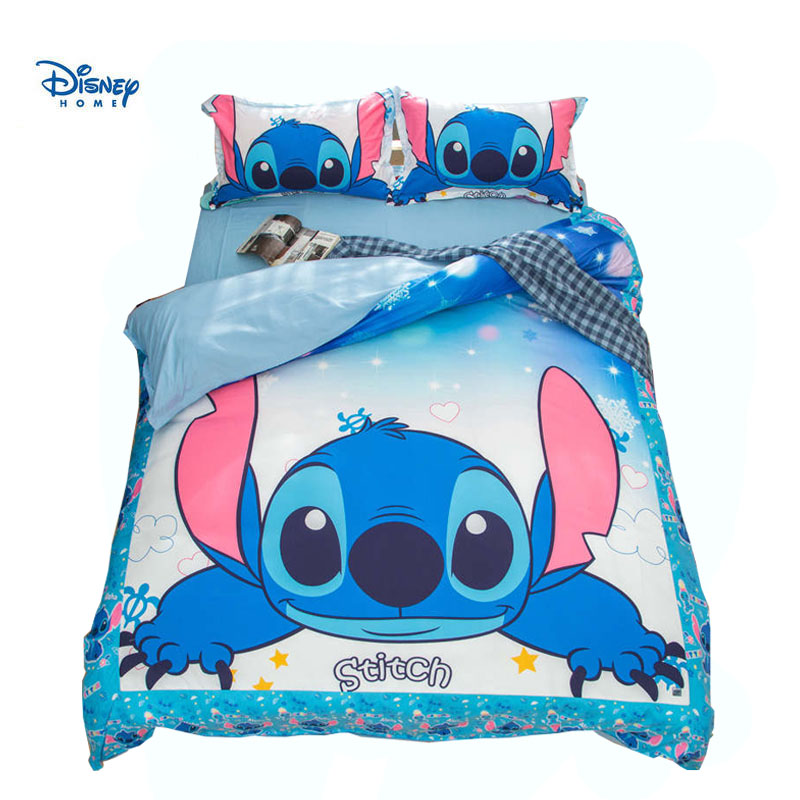 Cute Stitch Bedding Set Queen Size Twin King Comforter