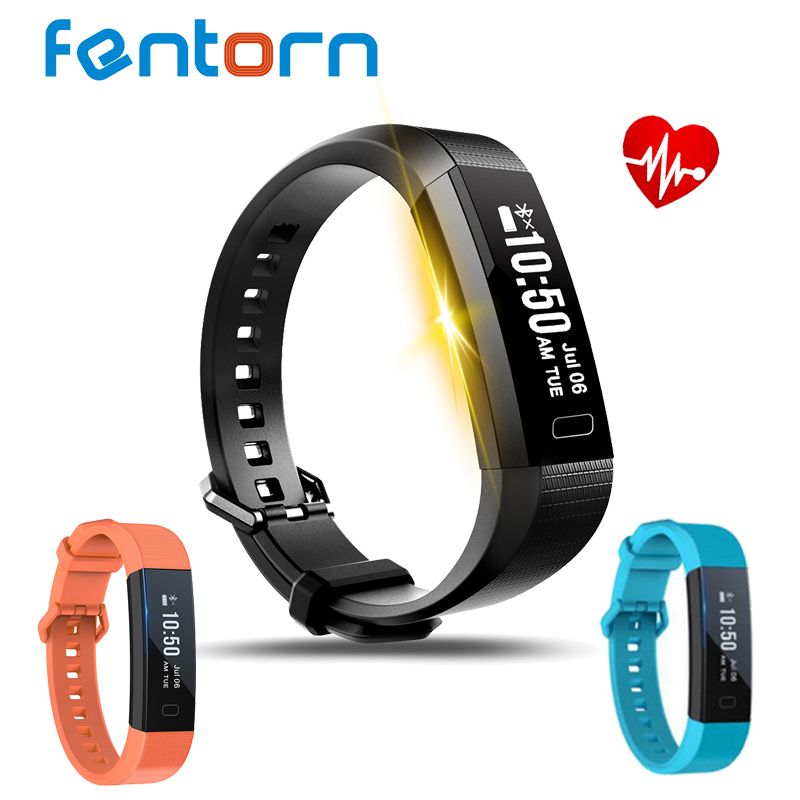Fentorn Y11 Smart Wristband Dynamic Heart Rate Monitor Band Pedometer Sports Bracelet with activity Tracker for