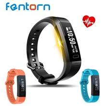 Fentorn Y11 смарт-браслет динамического сердечного ритма Мониторы группа шагомер спортивный браслет с трекер для IOS Android