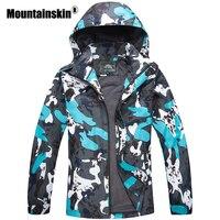 Mountainskin 2017 Spring Jackets Men S Coats 4XL Casual Hooded Mens Windbreaker Windproof Waterproof Brand Male