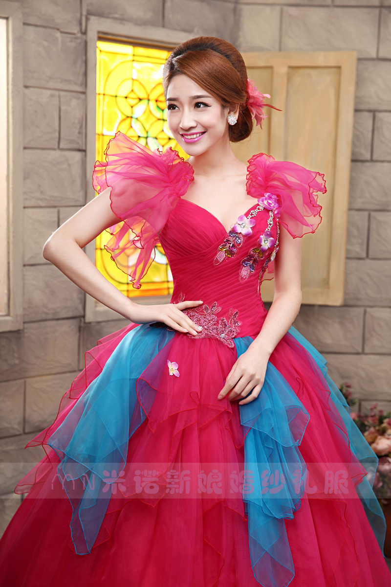 2014 red performance stage princess wedding party gown colorful 2014 red performance stage princess wedding party gown colorful ball gowns colored bridal dresses coloured quinceanera dress in quinceanera dresses from ombrellifo Choice Image