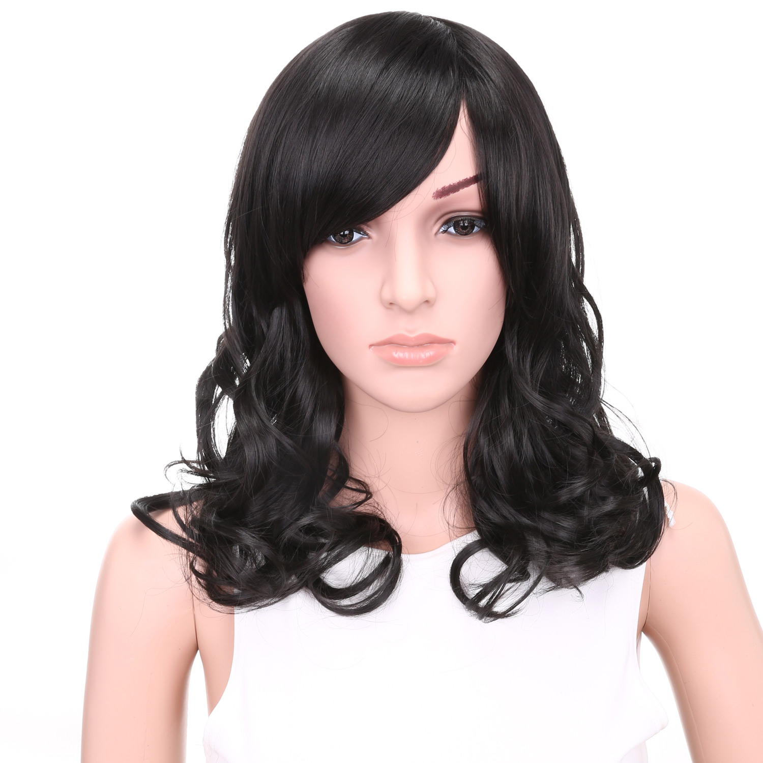 black female wig colorful cheap wigs