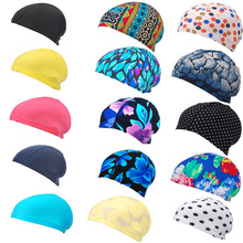 94b98c9431b 2019 New Womans Swimming Cap Long Hair Swimming Accessories Hats Mens Mask  for Sun Water Sport