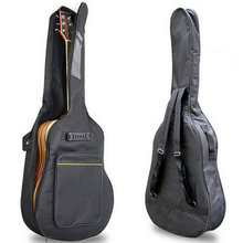 """New Arrival 41"""" Acoustic Guitar Double Straps Padded Guitar Soft Case Gig Bag Backpack free shipping"""