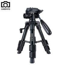 Zomei Q100 20 Aluminum Professional Tabletop Tripod with 3-Way Pan/Tilt Head Quick Release Plate Portable Mini Camera