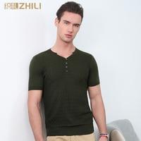 ZHILI New Summer Men's Polo's Tee