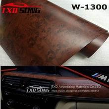 Película de PVC para muebles de pared, Interior de coche con tamaño de 4