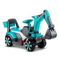 Детская игрушка автомобиль строительство экскаватор четыре колеса электрический автомобиль с музыкой детей ездить на игрушки Пластик езд...