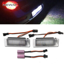 2x LED Licence Number Plate Light for Chevrolet Holden Trax Aveo 2nd CANBUS(China)