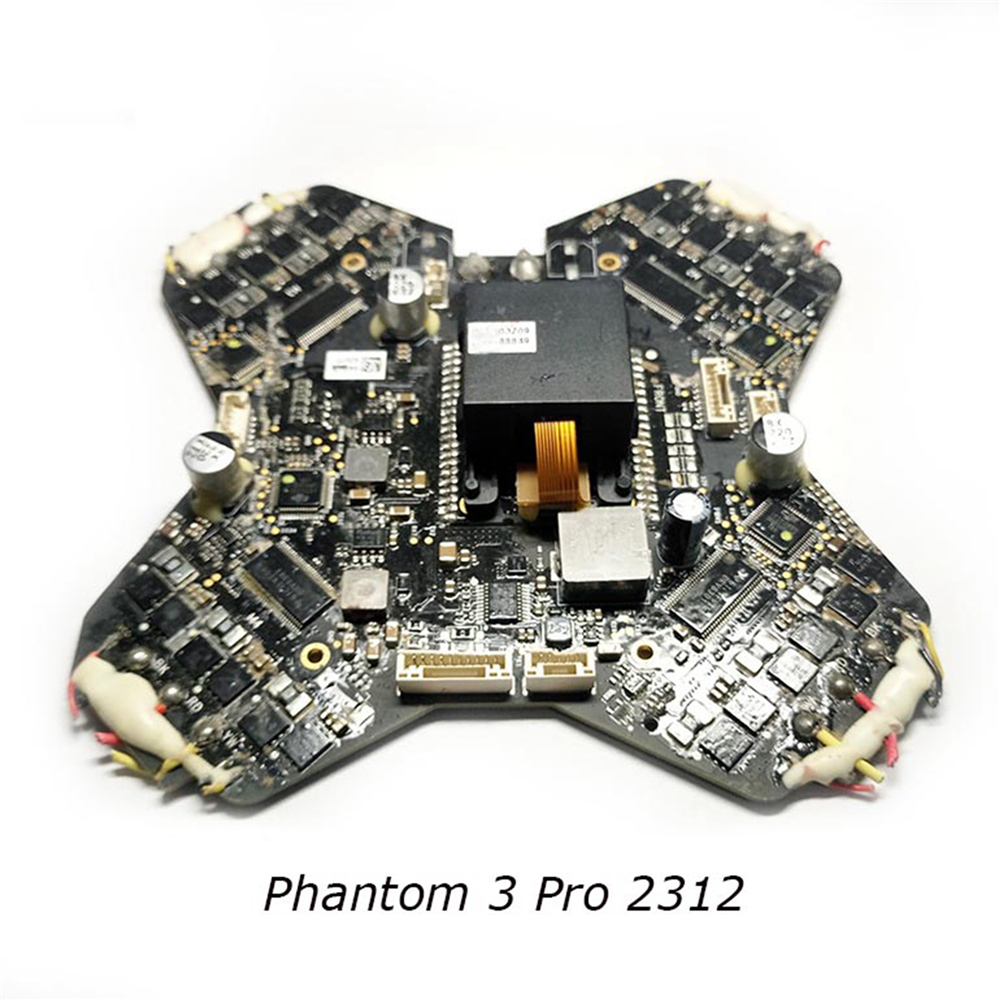 Center Main Board Part for DJI Phantom 3 Pro 2312/2312a Adv/Pro/Sta Drone Professional Replacement ESC Board Repair Parts спальный мешок tramp mersey l цвет оранжевый серый левосторонняя молния