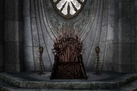 Iron Throne Game dark photo backdrop Vinyl cloth High quality Computer print wall photo studio background