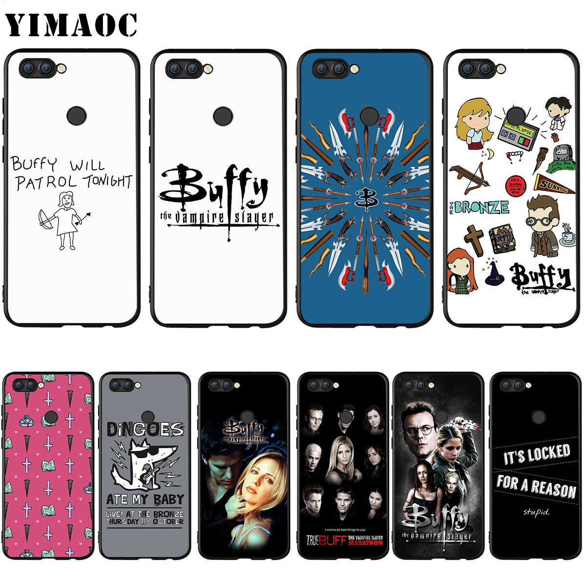YIMAOC Buffy The Vampire Slayer per il Caso di Huawei Honor Compagno P smart Y7 Y9 8C 30 20 10 8x Nova 3i 3 Lite Pro Prime 2018 2019