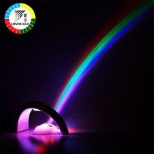 Coversage Regenbogen Nachtlicht Projektor Kinder Kinder Baby Schlafen Romantische Led Projektion Lampe Atmosphäre Neuheit Hause Lampen