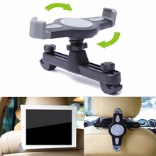 360 Degree Car Mount Back Seat Headrest Holder Stand Bracket For iPad 2 3 4 5 mini 7-11 Inches Auto Tablet PC Bracket Kit NEW