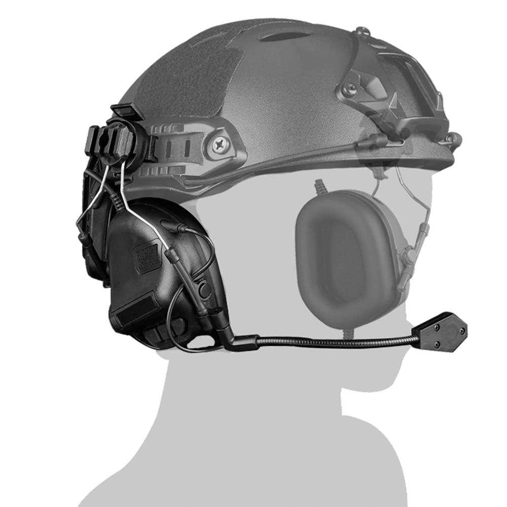2019 New Arrive WST Gen.5 Helmet Type Tactical Headset Communication Noise Canceling Headphones Hunting Airsoft Headset