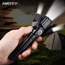 usb flashlight Cree xm-l t6 plus 2*xpe light Outdoor multifunctional lighting Powerful led