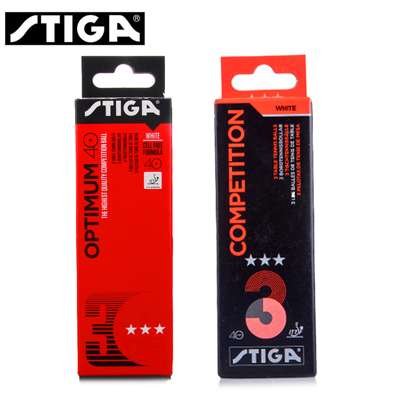 Stiga Table Tennis Balls 3 Star 40+ Plastic 40 Poly Training Official Ittf Approved Seamed Ping Pong Ball