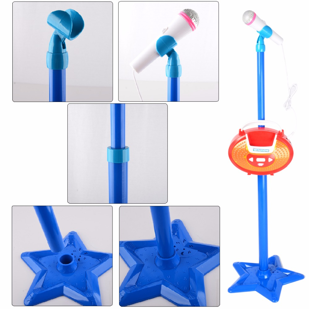 Surwish-Portable-Kids-Karaoke-Machine-Toy-Adjustable-Star-Base-Stand-Microphone-Music-Play-Toy-1