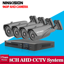 home security 8ch AHD 1080N 1.3MP HD Camera CCTV video surveillance dvr recorder HDMI 1080P 8 channel DVR for monitoring system