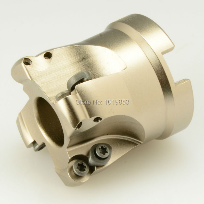 TRS-5R-50-22-4T indexable shell mill face milling cutter for round RD**10T3 carbide inserts