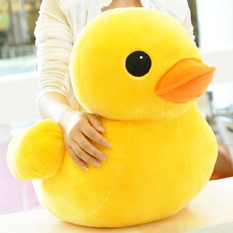 Hot Stuffed Dolls Rubber Duck Hongkong Big Yellow Duck Plush Animal Baby Toys Hot Sale Best Gift For Kids Girls Friends