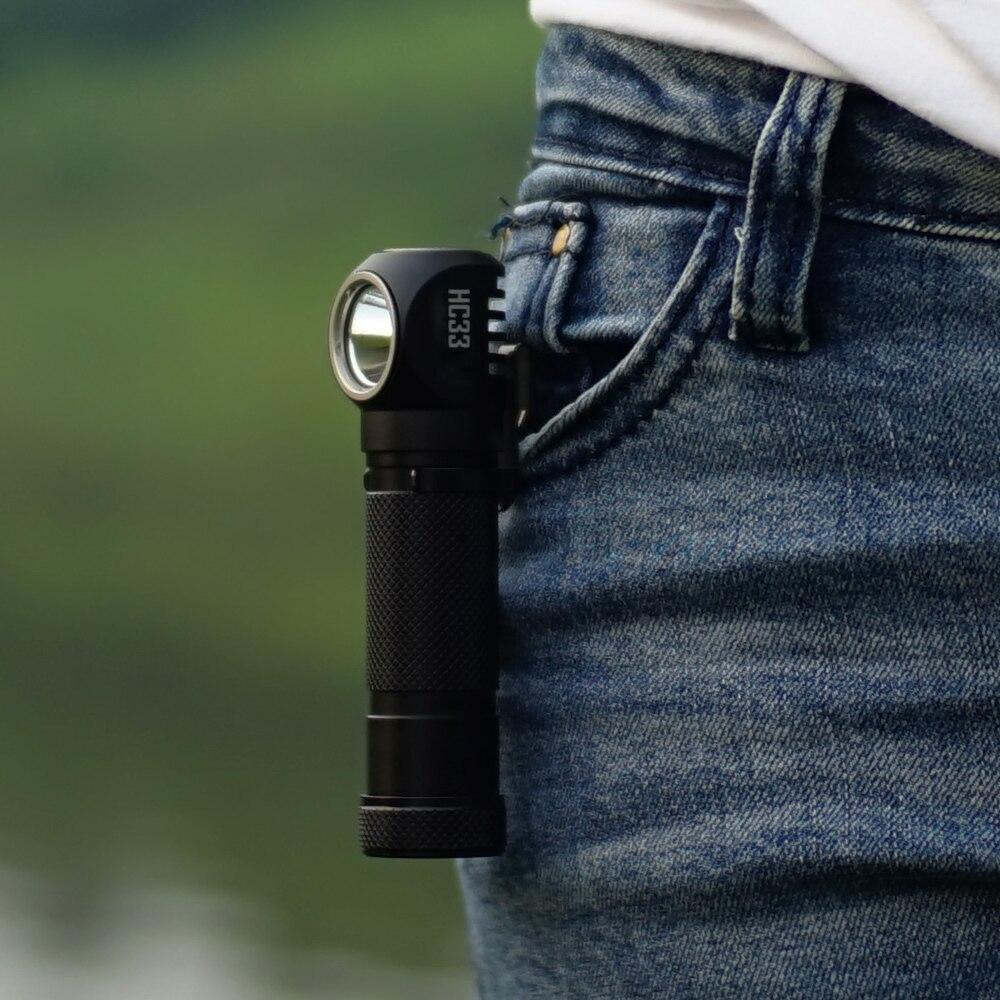 SALE 2018 NITECORE HC33 Headlamp 1800 Lumen CREE XHP35 HD LED Waterproof Flashlight Outdoor Camping Travel Hunting Free Shipping