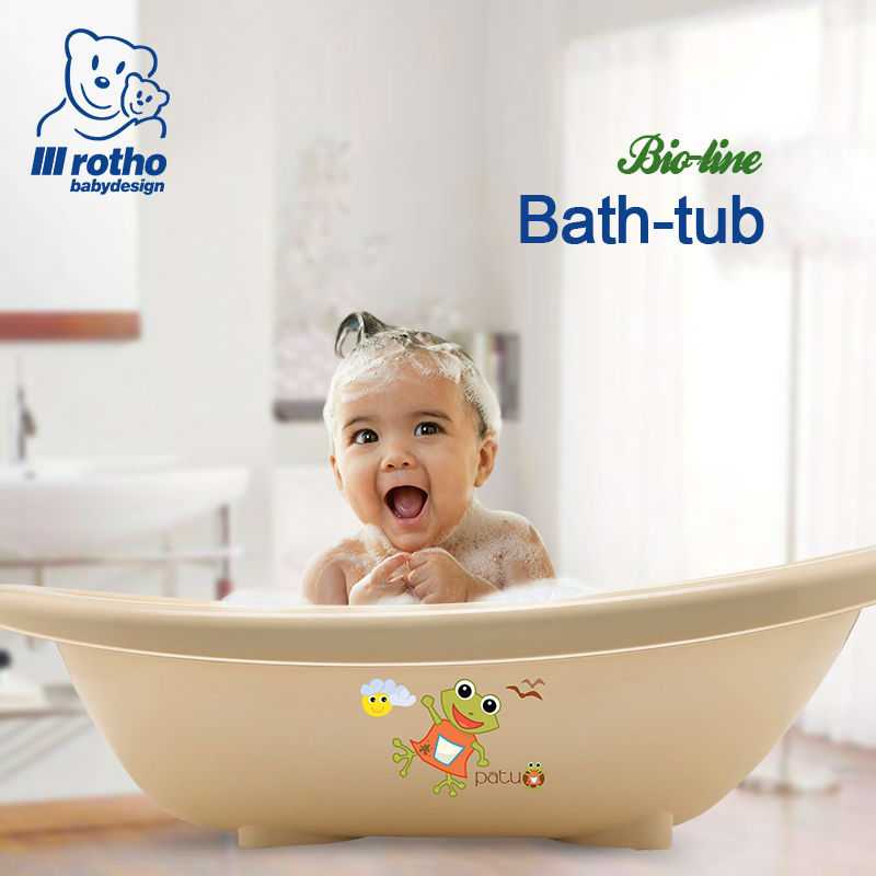 rotho babydesign baby bathtub bathing germany child kid bathtub newborn tub bath baby care. Black Bedroom Furniture Sets. Home Design Ideas