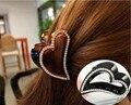 Новый Корейский Сердца, Полные Волос Ювелирные Изделия Полые Любовь Зажим Для Волос Для Женщин Аксессуары Для Волос