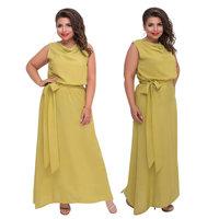 2019 Plus Size Women Dress Sleeveless Elegant Long Dress Big 5XL 6XL Party Summer Dress Beach Maxi Dress Vestidos Longos