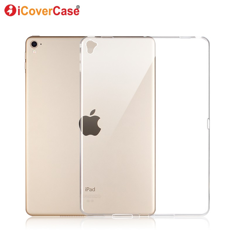 Silicon Case For iPad Pro 9.7 inch Protector Case Cover Clear Color Soft Skin Shell Tablets Pad Accessory Etui Coque Capa
