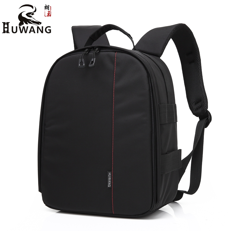New Outdoor Travel SLR DSLR Camera Backpack Durable Nylon Waterproof Camera Bag With Clapboard For Canon Nikon Sony Mochila.