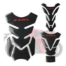 3D Motorcycle carbon fiber Fuel Tank Pad Protector Decals Sticker For Honda CBR 600 1000 RR 1000F F4 F4I F5 CB1000XX 400 Tank(China)